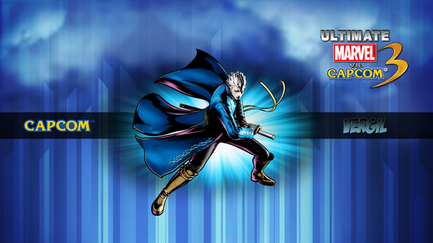 Ultimate MvC3 Vergil by CrossDominatriX5