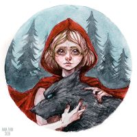 Red Riding Hood by A-Faun