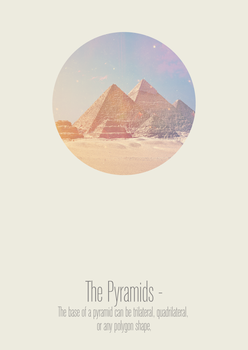 The Pyramids. by LewisAbdy