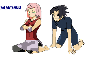 Sasusaku by blachxzhippuden
