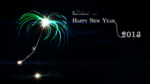 Happy New Year 2013 and a Merry Christmas by HingjonWallpapers