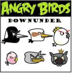 Angry Birds Down Under by possumbrush