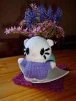 Hello Kitty by knerdy-knits