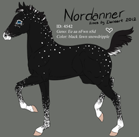 4542 Nordanner foal design by Ikiuni