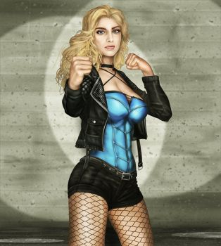 DC : Black Canary - Dinah Drake - 001 by kamSXXX