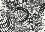 Zentangle Natur by Ka-Kind