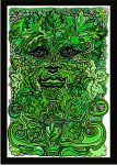 the green green man by treebee