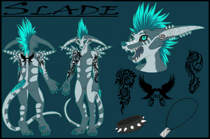 Slades Ref Sheet by Vexlovely
