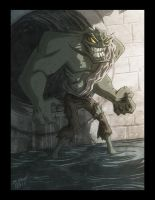 Killer Croc by OtisFrampton