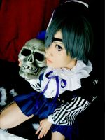 The Boy With The Skull by Rii-Ruu