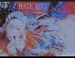 Hate you Suigintou Ver. by Russhi