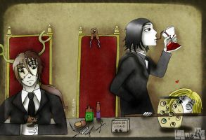 Lenore - At Taxidermy's :) by Xomy
