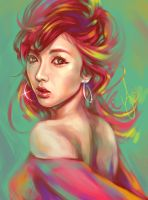 Hyuna Bubble Pop by ShadowYingZhi