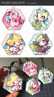 Pokemon Charm Wipers by Mi-eau