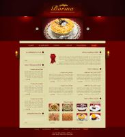 Borma Sweets Website by fewela