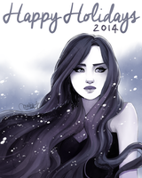 Happy Holidays 2014 by utenaxchan