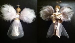 Angel Ornament by TalonArt