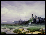 Ruined castle by EowynRus