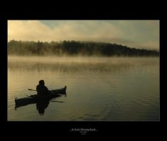 An Early Morning Kayak by thedrifterzaz