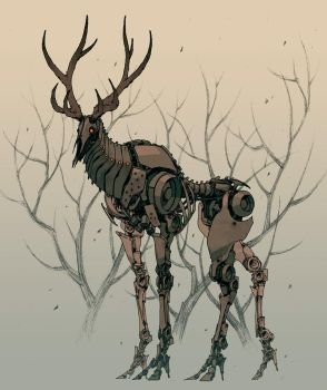 IronElk by andrewmar
