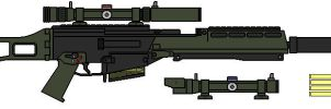 G36 Sniper Own Style by Seth45