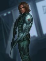 Winter Soldier MARVEL by Moonarc