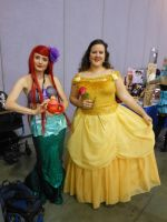 Fanime 2012: Ariel and Belle by K-ayu