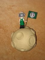 First Starbucks on the Moon by Rook-XIII