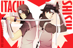 ANBU Itachi and Shisui by Cassy-F-E