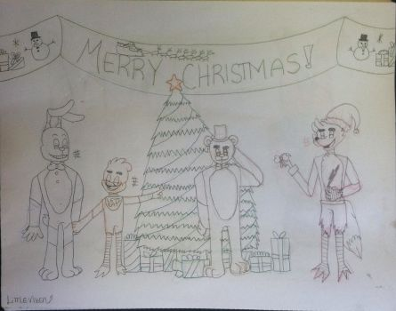 Fnaf Christmas ~:CONTEST:~ by LittlestVixen