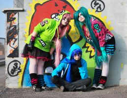 Matryoshka vocaloid cosplay by odHINAbo