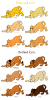 Lion King Adoptables by acornheart465