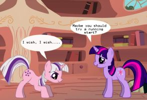 A Teleporting Lession with the Twilight Ponies by SylvesterKittyCat