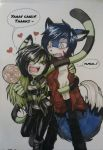 Point Commission: Evan x Yushi by debsie911
