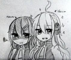 PL - luce-san and Alice-chan by AkareinSama