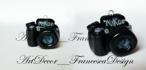 miniature camera Nikon by Fraartdesign