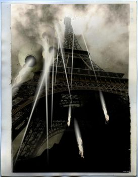 Dark Day for the City of Lights by stefanparis