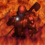 Rookie in the Fire by VyperCA941