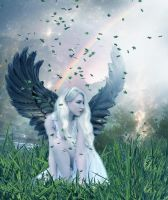 Angel Heart by PlacidAnemia