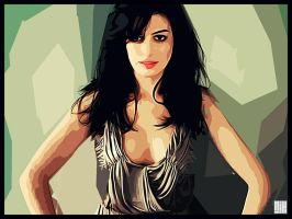 Anne Hathaway by nicollearl