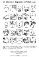25 expressions by EggyComics