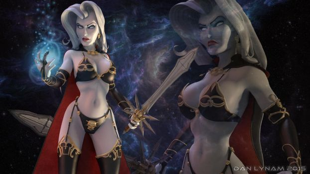 Lady Death by faceaway