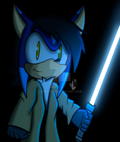 Look, I have a Lightsaber by AlexTHF