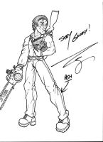 Bruce Campbell Signature by DeuceOhNegative