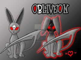 Obliveon - Ghost Type Eeveelution by JamalPokemon