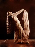 Flapper Belly Dancer Retint by Tvera