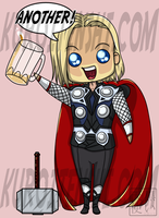 Chibi Thor says ANOTHER by kuroitenshi13