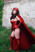 Scarlet Witch - 01 by galaktikmermaid