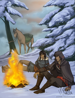 Bonfire  Commission by WildEllie