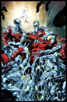 RED LANTERNS 14 cover by Summerset